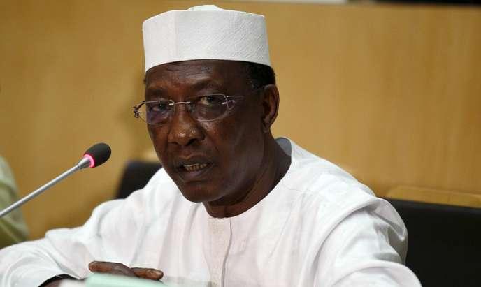 Le président de la République Idriss Déby. Illustration. © DR