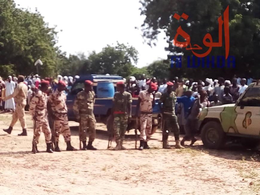 Tchad : le nouveau préfet de Djourouf Al Ahmar installé à l'Est. © Alwihda Info