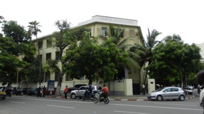 L'Institution Sainte-Jeanne-d'Arc à Dakar. © DR