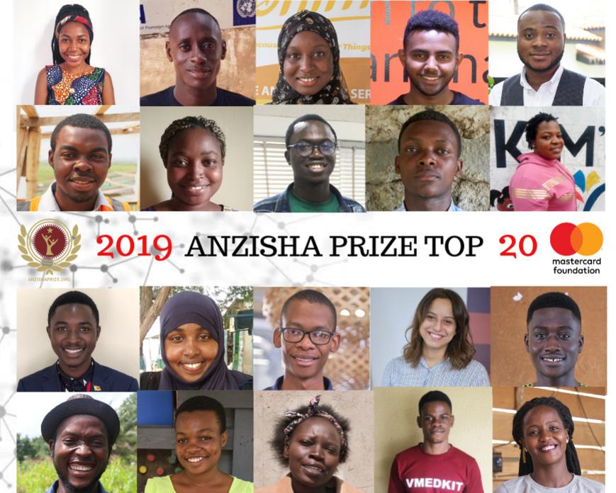 Le prix Anzisha dévoile ses 20 meilleurs jeunes entrepreneurs africains 2019.
