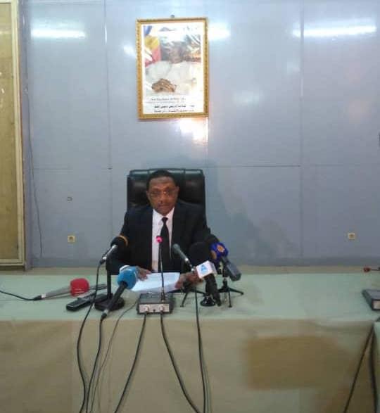 Tchad : le chef de la diplomatie rassure le corps diplomatique sur l'état d'urgence et les élections. © Alwihda Info