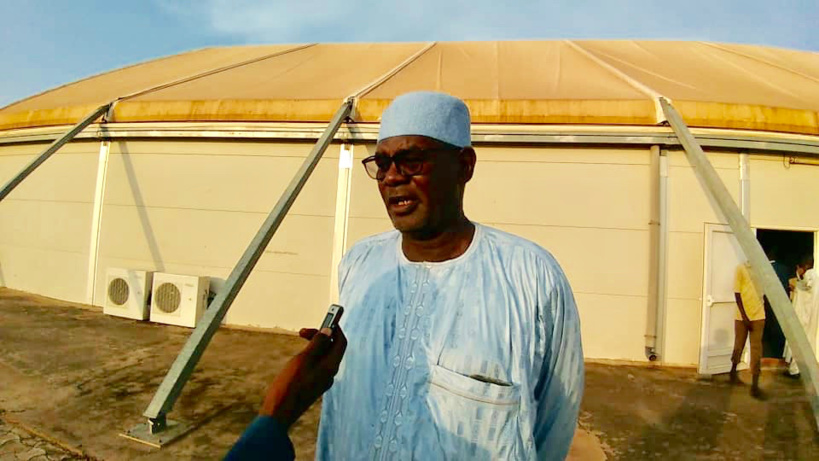 Le directeur général de l'enseignement et de la formation au ministère de l'Education nationale, Mahamat Alboukhari Oumar. © Alwihda Info