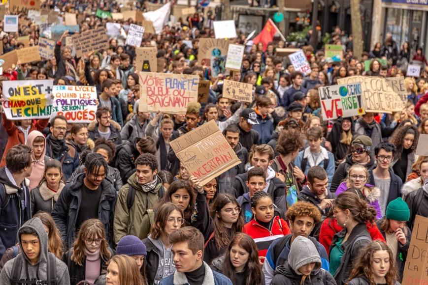 Grève mondiale pour le climat : un appel à la mobilisation contre le changement climatique. Illustration. ©DR