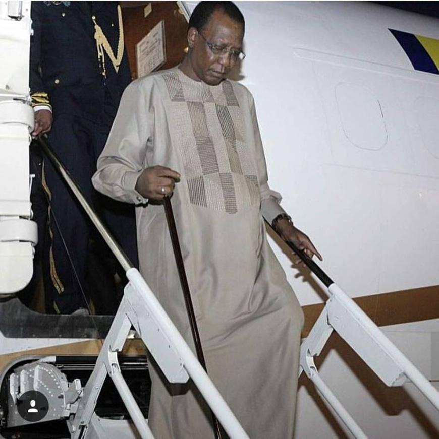 Le président Idriss Déby. ©DR