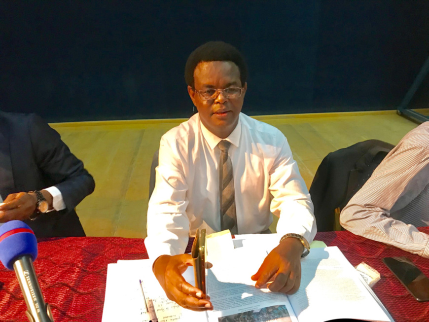 Kébir Mahamat Abdoulaye, chercheur au CEDPE et directeur des statistiques et de la communication à l'Autorité de régulation des marchés publics. © Alwihda Info