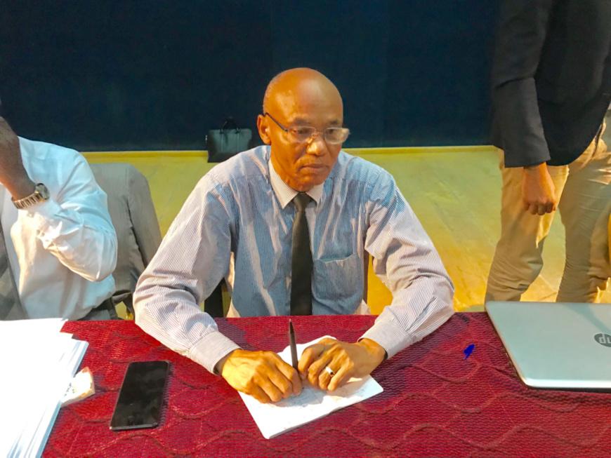 Le président du CEDPE et ex-conseiller chargé de missions du Médiateur de la République, Dr. Ahmat Yacoub Dabio. © Alwihda Info