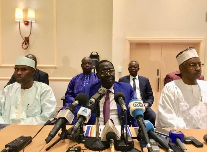 Le président de la Commission électorale nationale indépendante (CENI), Kodi Mahamat. © Alwihda Info