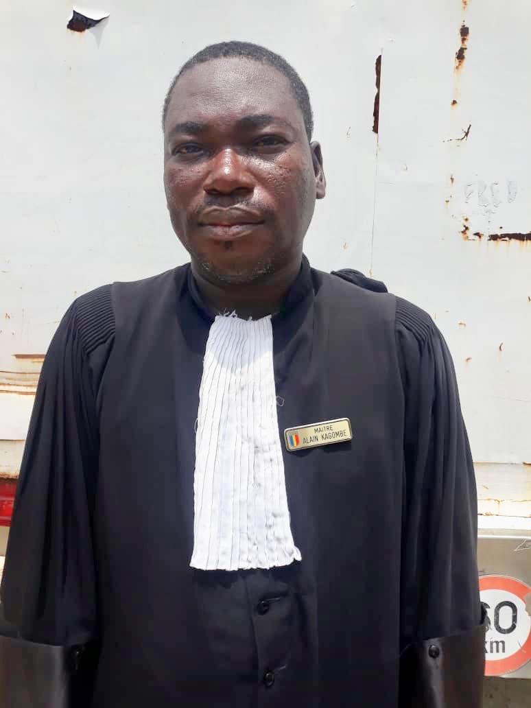 L'avocat de Toupta Bouguena, Maitre Alain Kagonbé. © Alwihda Info
