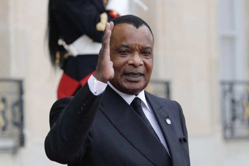 Denis Sassou N'Guesso. Crédits : DR