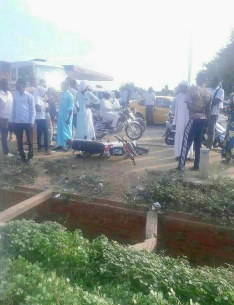 Tchad : 1 mort dans un accident avec un véhicule de gendarmerie à N'Djamena