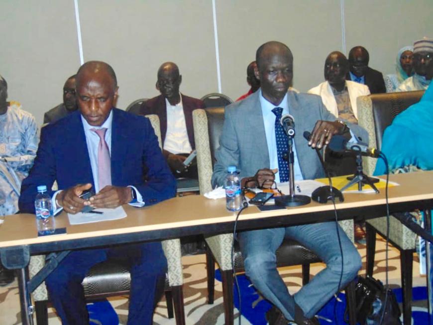 """Tchad : """"dorénavant, toute dépense inéligible va requérir le remboursement systématique"""", ministre Issa Doubragne. © Alwihda Info"""