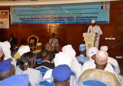 """Idriss Déby : """"tous les fondements de notre Nation sont gravement ébranlés"""". © Pr"""