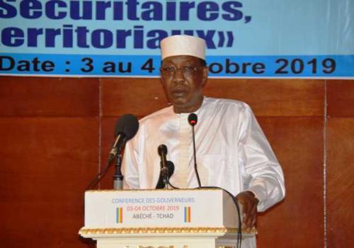 """Tchad : """"plus jamais de Diya"""", ni de """"permis de tuer"""", prévient Idriss Déby. © Pr"""