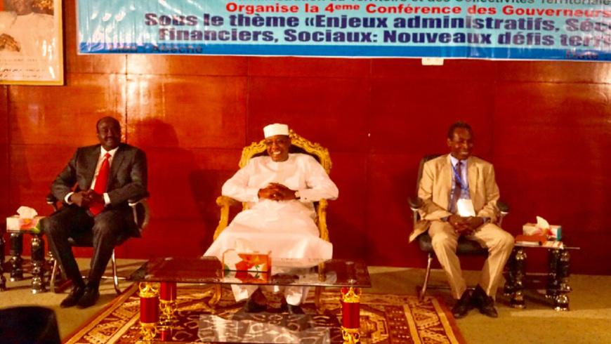"""Tchad : la 4ème conférence des gouverneurs a été un """"réel succès"""". © Alwihda Info"""