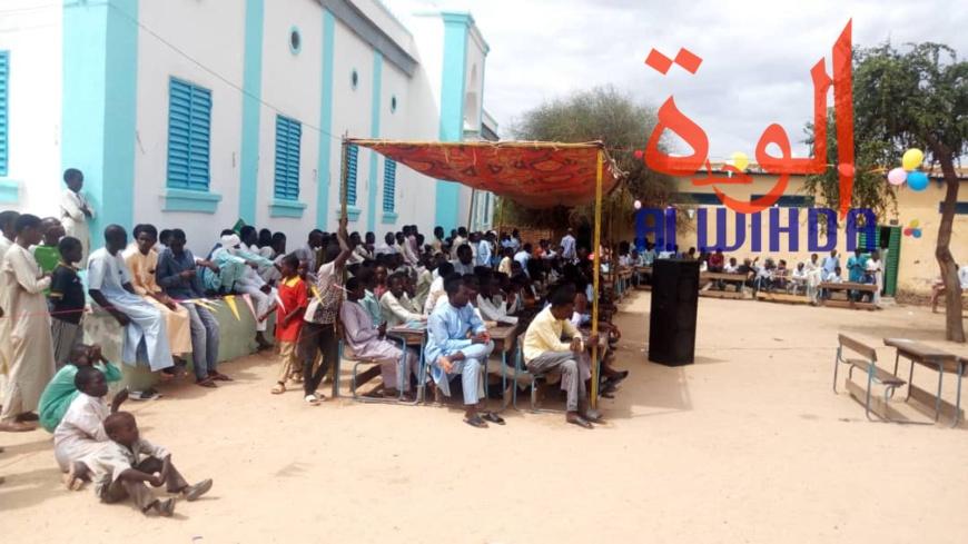 Tchad : en province, 170 bacheliers distingués par leur établissement. © Alwihda Info