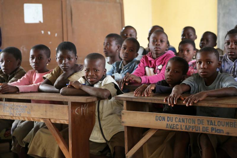 Togo : en deux ans, le programme présidentiel « School Assur » a déjà touché plus d'un million d'élèves. DR