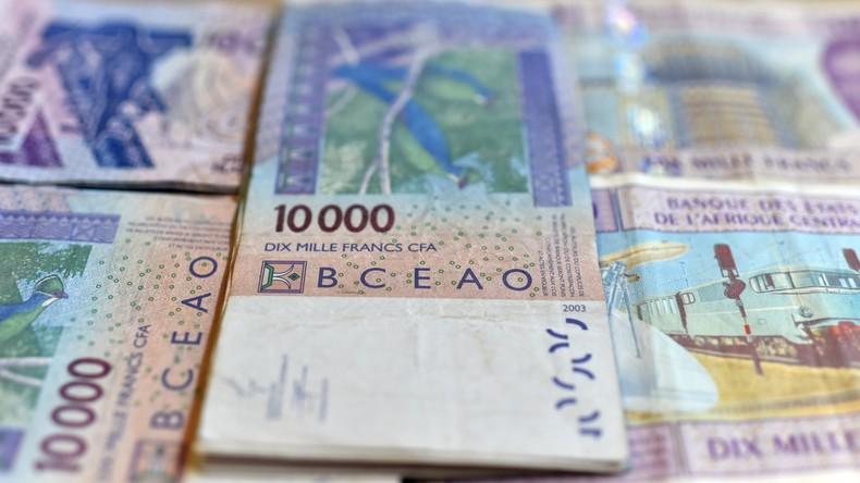 Des billets en francs CFA (image d'illustration). © DR
