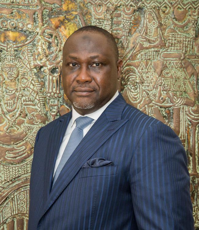 M. Samaila Zubairu président-directeur général de l'Africa Finance Corporation (AFC).