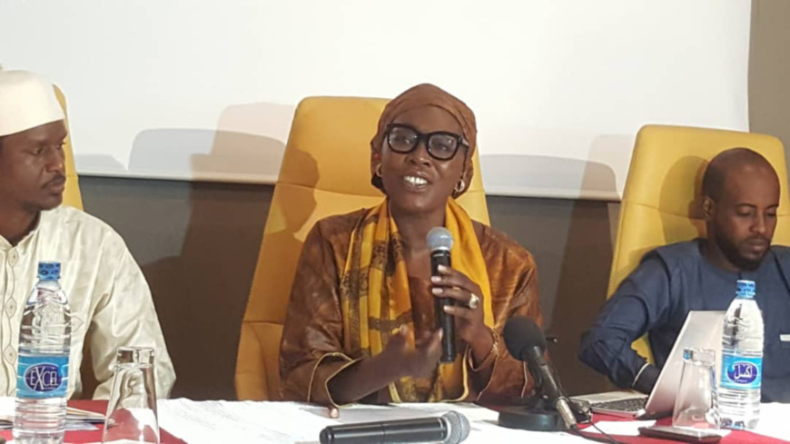 La ministre du Développement touristique, de la Culture et de l'Artisanat, Mme. Madeleine Alingué. © Alwihda Info