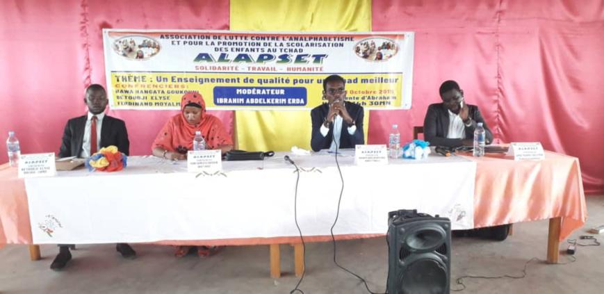 """Tchad : """"l'émergence d'un pays ne se fait que par une meilleure éducation"""". © Alwihda Info/D.H."""