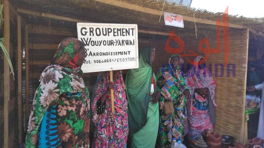 Tchad : le secteur informel féminin à l'honneur de la foire agro-pastorale. © Alwihda Info