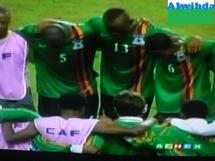 Sport: Le Dieu du stade donne la victoire à la Zambie