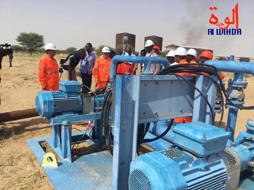 Tchad : le directeur de la SHT inspecte les installations de la raffinerie de Rig-Rig