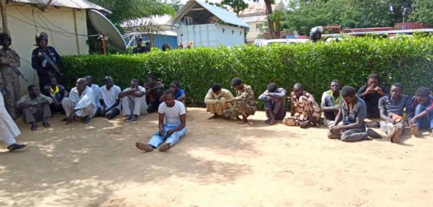 Tchad : 21 individus arrêtés pour vols aggravés et recels à N'Djamena