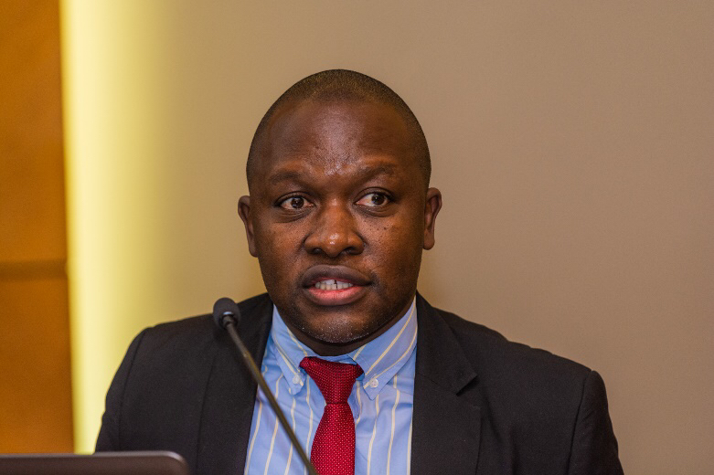 Mr Frankie Mbuyamba leads the team that compiles the African Tax Outlook