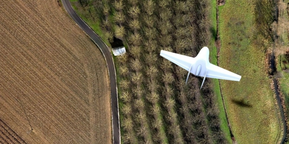 Tunisie : la BAD organise un séminaire d'achèvement du projet pilote d'utilisation des drones dans le secteur agricole. ©DR