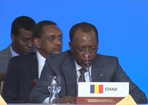 Afrique : Déby sollicite le soutien militaire, politique et diplomatique de la Russie. © Pr