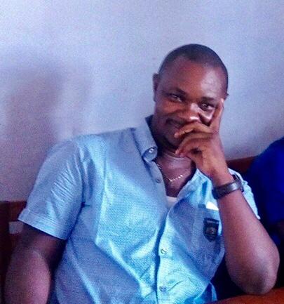Nicaise Kodepo, initiateur de l'association Grandir Ensemble.