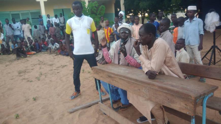 Tchad : au Sila, le théâtre pour sensibiliser sur le désarmement des civils. © Alwihda Info