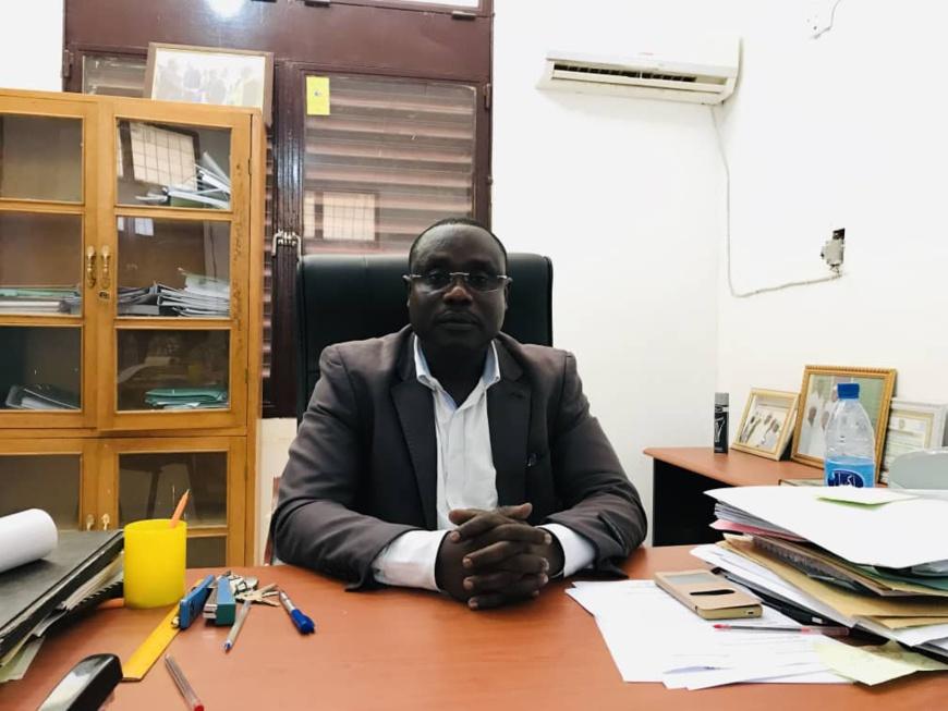 Le délégué sanitaire régional du Ouaddaï, Dr. Abdel-Mamoud Chene. © A.I./A