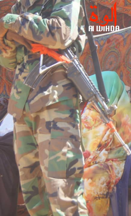 Illustration. Un militaire en faction au Tchad. © Alwihda Info