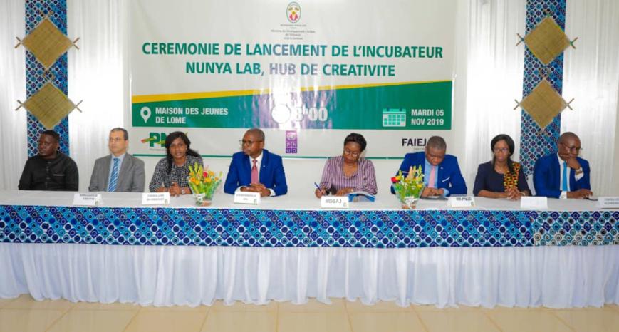 Togo : lancement de l'incubateur Nunya Lab pour soutenir l'entrepreneuriat des jeunes. ©DR