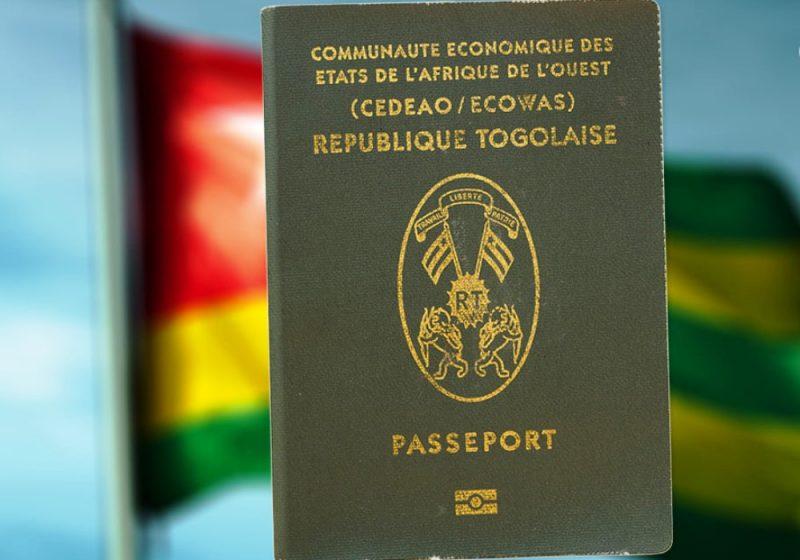Un passeport togolais. Illustration. © DR