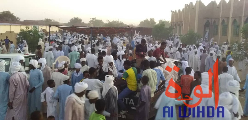 Tchad : des fidèles musulmans commémorent le Maoulid. © Alwihda Info