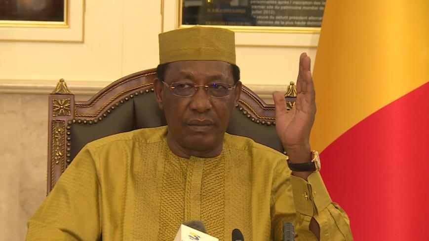 """Terrorisme en Afrique : """"demain, c'est tout le continent qui va s'embrasser"""", Idriss Déby."""