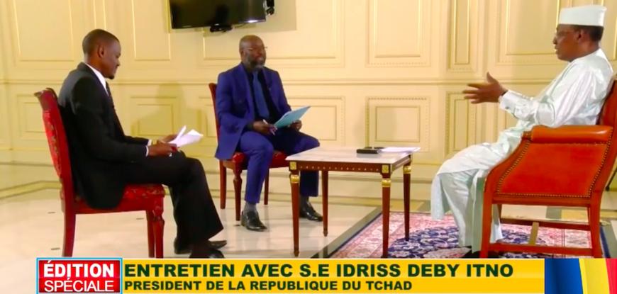 """Franc CFA : Déby appelle à """"refaire les accords monétaires"""" avec la France, """"l'injustice a trop duré"""". © Afrique Media TV"""