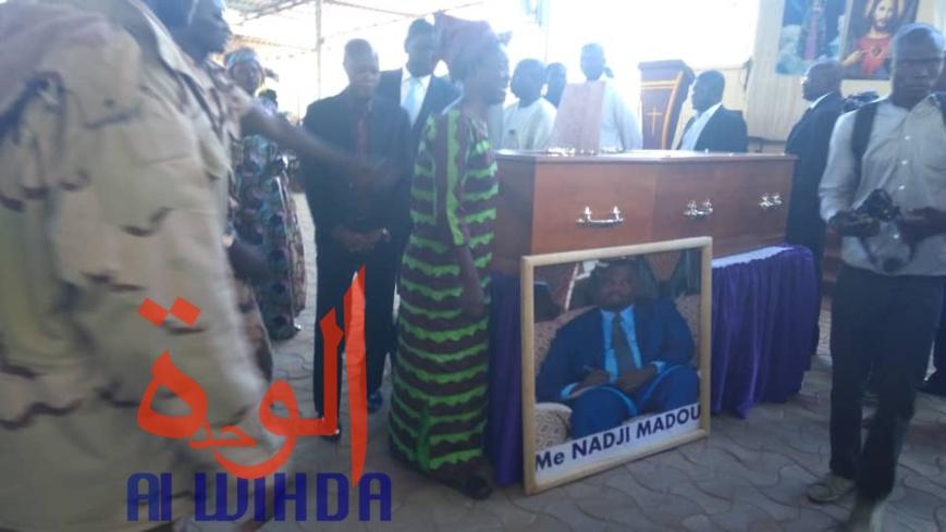 Tchad : le corps de Maître Nadji Madou rapatrié, un grand hommage au défunt. © Alwihda Info