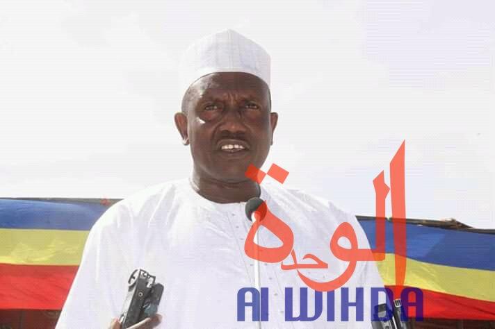 Le secrétaire général de la province du Ouaddai, Mahamat Abdelkérim Ali. © Alwihda Info