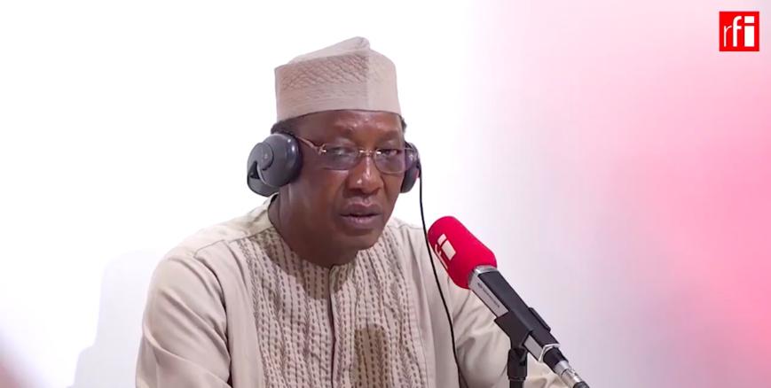 """Idriss Déby : """"Il y a un déficit de la gouvernance mondiale"""". © RFI"""