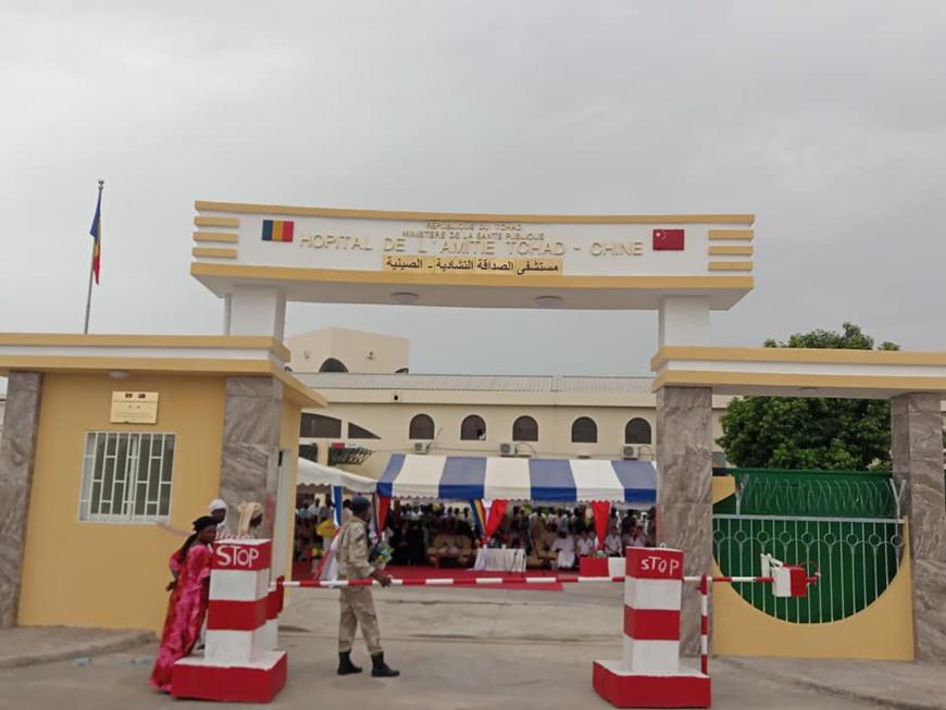 N'Djamena : l'hôpital Tchad-Chine débordé par le sous-effectif et l'afflux de malades. © DR
