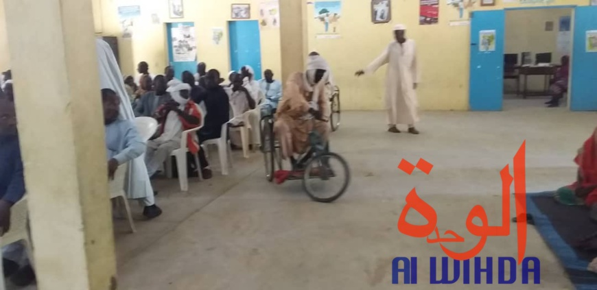 """Tchad : un congrès pour plaider la cause des personnes handicapées, """"une préoccupation de tous"""". © Alwihda Info"""