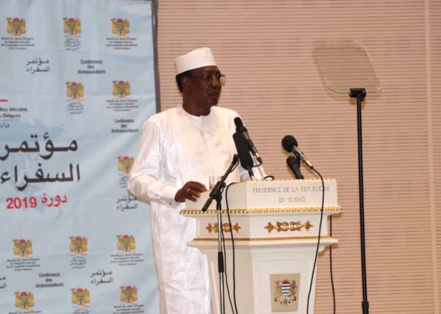 Tchad : l'appel d'Idriss Déby à la diaspora. ©DR