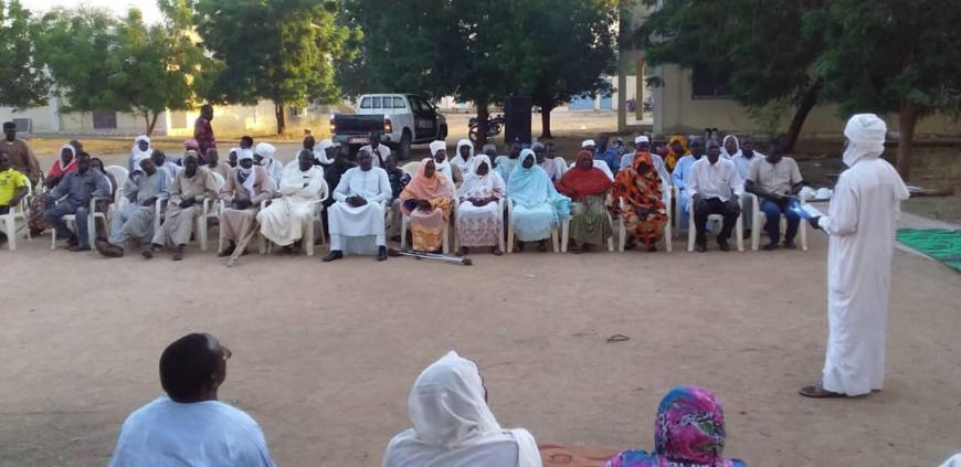 Tchad : fin du congrès d'organisations des personnes handicapées à Ati. ©Alwihda Info