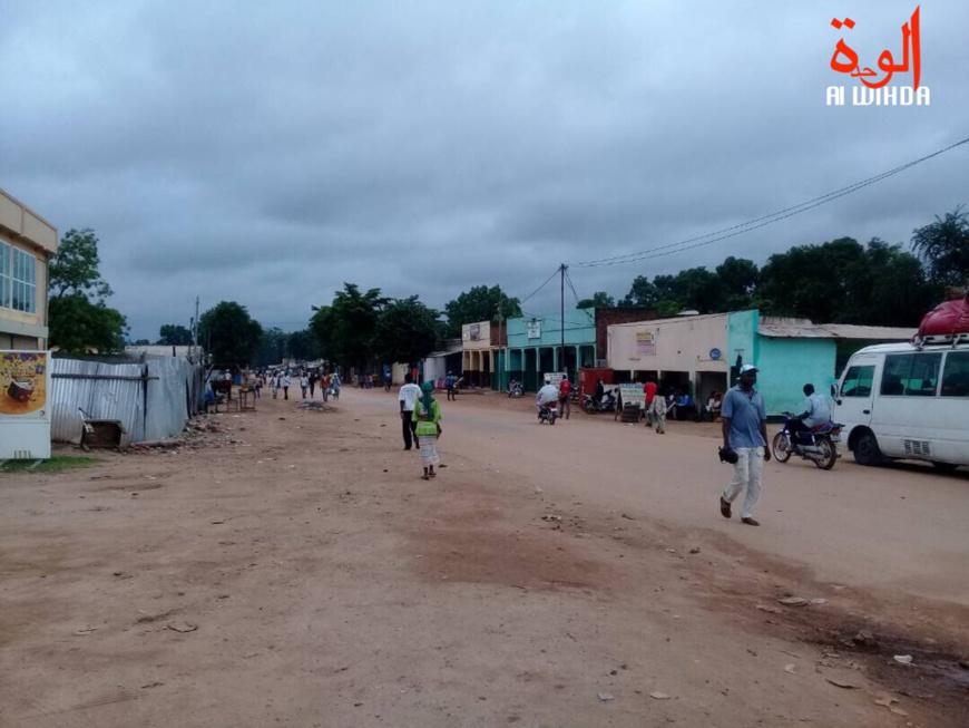 La ville de Moundou, au Logone occidental. Illustration. © Alwihda Info