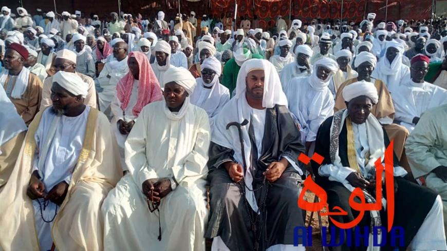 Tchad : des milliers de personnes commémorent le Mawlid près de Mongo. © Alwihda Info/A.I.A.