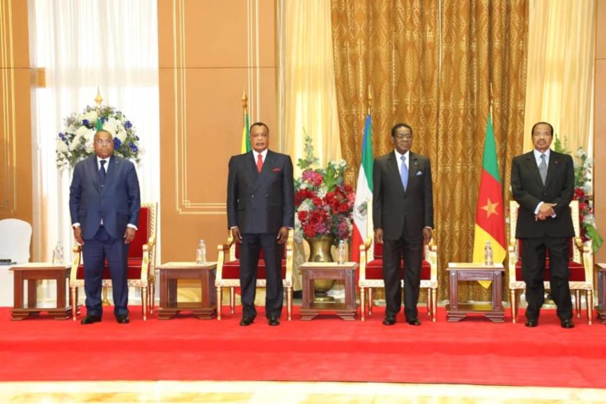 Les chefs d'Etat au sommet de Yaoundé.